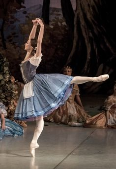 Polina Semionova in Giselle at Mikhailovsky Theatre. Photo by Jack Devant
