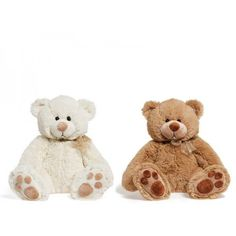 PELUCHE OSO PIES MEDIANO