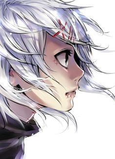 Juuzou Suzuya | Tokyo Ghoul I love the hair in this picture!