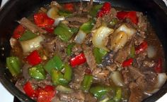 Mom's Pepper Steak recipe - allthecooks.com