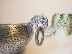 Norweigan Pewter Dragon Bowl Eik Tinn Norge por tiendanordica