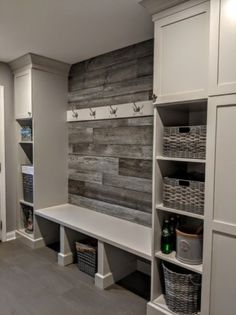 Mudroom Ideas - Farmhouse Mudroom Decor and Designs We Love - Mudroom Ideas and. Mudroom Ideas - Farmhouse Mudroom Decor and Designs We Love - Mudroom Ideas and Mudroom Entryway Ideas (in farmhouse style) DIY mudroom designs for you - Mudroom Laundry Room, Laundry Room Remodel, Laundry Room Design, Laundry Storage, Garage Storage, Mud Room Lockers, Mud Room In Garage, Mudroom Storage Ideas, Garage Closet
