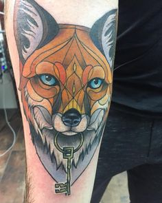 """185 Likes, 1 Comments - Alex Gregory (@alexgregoryart) on Instagram: """"Wrappy fox head. 🦊 @og_zygocite told me it was """"on fleek"""" so I must be doing something right 😂#fox…"""""""
