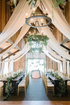 30 Rustic Barn Wedding Reception Space with Draped Fabric Decor Ideas barn wedding reception ideas with ivory draping Rustic Wedding Reception, Wedding Dinner, Wedding Receptions, Farm Wedding, Wedding Table, Dream Wedding, Reception Ideas, Wedding Ideas, Wedding Ceremony
