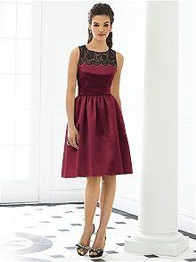 After Six Bridesmaid Dress 6644    #red #bridesmaid #dress
