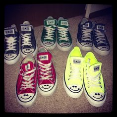 My converse collection !