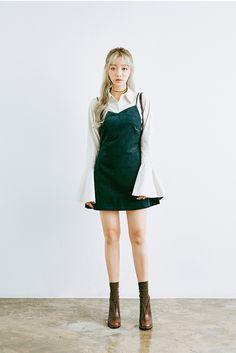 chuu_츄 - 츄(chuu) | 인디언 썸머 dress | daily