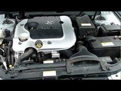 HYUNDAI REPAIR : Change oil and filter in engine Hyundai Sonata NF ...