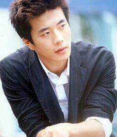 Kwon Sang-woo. S. Korean actor. Handsome man. Enjoyed his performance in Stairway to Heaven.
