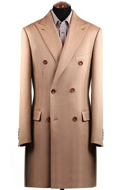 Men's coat, Holland & Sherry fabric, 65000 rubles