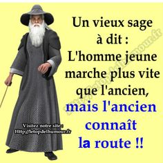 Un vieux sage a dit Words Quotes, Me Quotes, Funny Quotes, Sayings, The One You Feed, French Quotes, French Poems, Quote Citation, I Love My Son