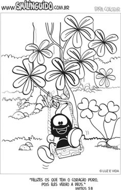 smilinguido-imagem-desenho-248 Cartoon Drawings, Snoopy, Lettering, Kids, Fictional Characters, Christ, Activities For Kids, Bible, Needlepoint