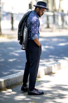 夏日型男佔領巴黎街頭:2015 巴黎男裝週街拍特輯