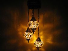 3 ball mosaic glass chandelier starmaster art lamp shade moroccan lantern 167