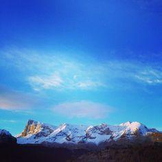 Lever de soleil féérique sur les #montagnes du Dévoluy.