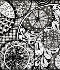 zendoodle images   zendoodle zentangle zendoodle polymer clay necklace # doodle ...