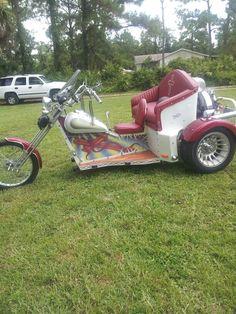 Sweet custom trike