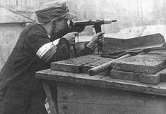 Uprising defender. This Day in History: Aug 1, 1944: Warsaw Revolt begins