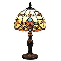 Baroque Style Tiffany Mini Light with Staind Glass For Children's Room D08025T – EUR € 42.97