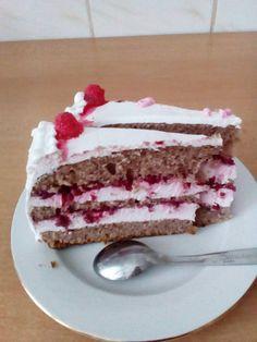 Toart cu zmeura. Vanilla Cake, Tiramisu, Ethnic Recipes, Desserts, Food, Tailgate Desserts, Deserts, Essen, Postres