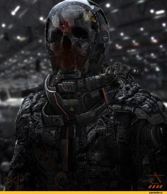 cyberpunk,art,арт,красивые картинки,Sci-Fi,cyborg,HSbF6