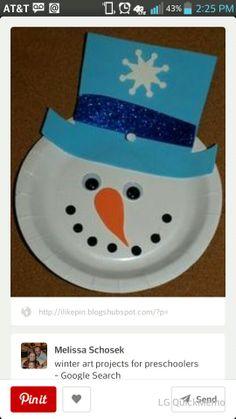 Lets build a snowman, indoors