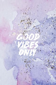"""Good vibes."" #madewithover  Download and edit your own quotes in Over today."