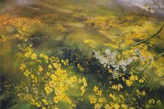 I would like to share with you a 'new to me' artist, French artist, Claire Basler. She was born on September 1960 in Vincennes, France. Claire lives and paints in her home Châtea… Flower Painting, Art Painting, Nature, Beginner Painting, Fine Art, Encaustic Art, Painting, Oil Painting Inspiration, Art