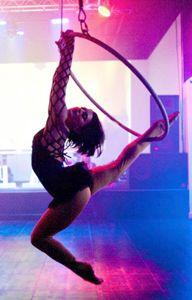 Sarah - Lyra hoop performer