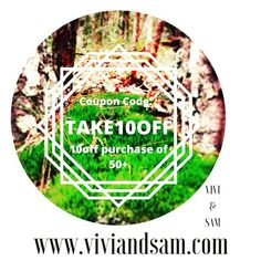 Check out my new shop!! Take 10.00 off orders of 50.00 or more!PLUS we have a FREE Chakra Necklace! www.viviandsam.com @vivi_and_sam $$$MAJOR SALE$$$ #sale #shopping #shopsmall #gift #giftideas #bday #couponcommunity #couponing #couponcode #free #freestuff #handmade #florida #mandala #boho #gypsy #homedecor #jewelry (at Gainesville, Florida)