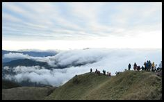 Surrounded by the Clouds - my cousin's shot at Mt. Pulag -s the third highest mountain in the Philippines. It is Luzon 's highest peak at 2,922 meters above sea level.