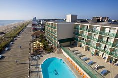 The Atlantic Sands Hotel in Rehoboth Beach has a history of excellence and superior customer service. Plus, beautiful ocean front view!