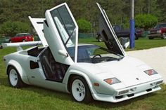 The Countach is recognisable because of its scissor doors, cooling vents on the side and rear fender, almost flat shape and more. It's an icon of sheer design excellence in the motoring industry, and one of Lamborghini's most loved and globally-striking models.