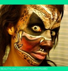 Predator Face Paint