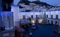 Capri - La Piazzetta a Natale