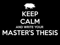 It masters thesis