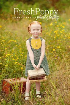 girls chevron dress by Happy Little Dress