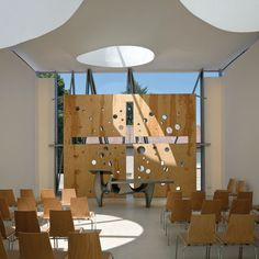 Martin Luther Church Hainburg by Coop Himmelb(l)au