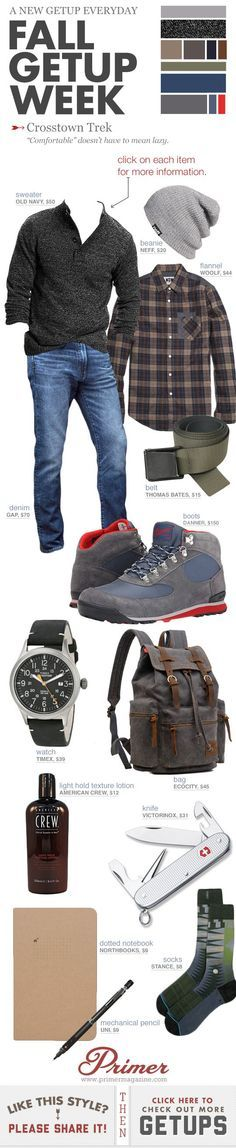 Fall Getup Week: Crosstown Trek | Primer