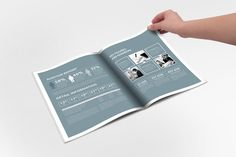 Annual Report Sharp InDesign Templat by Creative Template on @creativemarket