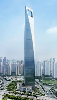 Shanghai - is it just me or does this look like the worlds biggest bottle opener...
