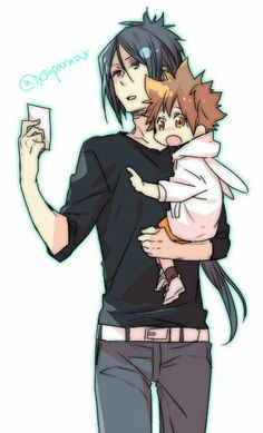 This gives me the feels! I love the idea of Mukuro jaded as he is, taking care toddler Tsuna who is just so innocent is a dream come true.