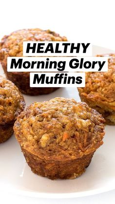 Healthy Sweets, Healthy Baking, Healthy Snacks, Healthy Recipes, Healthy Brunch, Healthy Sweet Treats, Healthy Breakfasts, Yummy Treats, Healthy Breakfast Muffins
