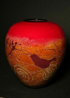 Richard Satava Ceramic Pottery, Pottery Art, Unusual Art, Glass Birds, Colored Glass, Art Forms, Glass Art, Art Pieces, Sculpture