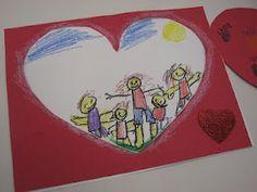 Fête des mères 2019 Art Dish: My Family Preschool Family, Preschool Arts And Crafts, Family Crafts, Family Theme, Love My Family, All About Me Activities, Family Activities, School Wreaths, Heart Frame
