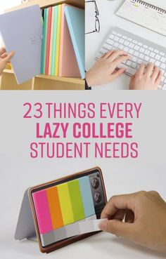 23 Life-Changing Products Every Lazy College Student Needs Let's face it we're all a little lazy and will do whatever it takes to save a bit of energy. The post 23 Life-Changing Products Every Lazy College Student Needs appeared first on School Ideas. Planning School, College Planning, College Life Hacks, School Hacks, College Tips, College School Supplies, College Song, Dorm Tips, College Survival Guide