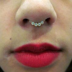 #Septum jewelry. Primera vez q uno de éstos me gusta!!