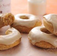 Pumpkin doughnuts | Flourish - King Arthur Flour's blog