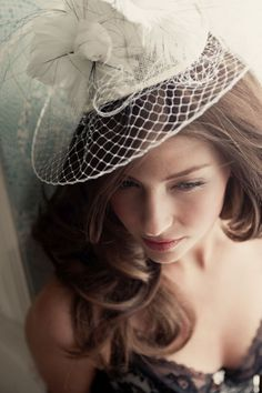 posh wedding hat