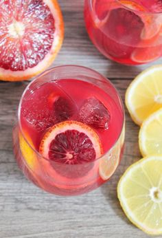 Cocktails and Confessions Episode 4: Blood Orange Champagne Punch